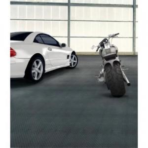 Trafficmaster allure commercial diamond plate graphite for Diamond plate laminate flooring