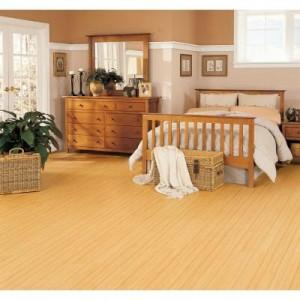 trafficmaster allure cherry plank flooring – no glue!