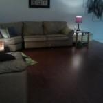 Laminate Floor Installation in Basement