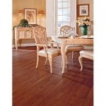 Trafficmaster Allure Cherry Plank Flooring – NO Glue!